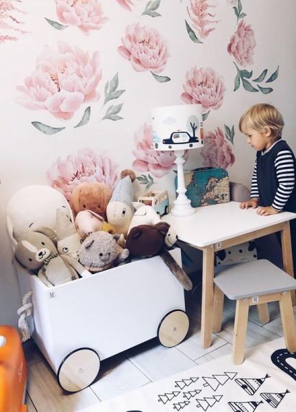 Skrzynia na zabawki na kółkach Lotta