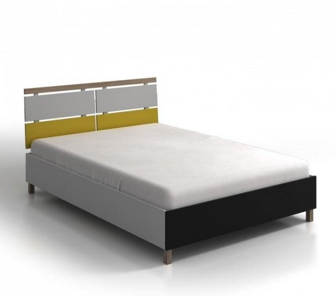 Drewniane łóżko Do Sypialni Skandica Vaxholm