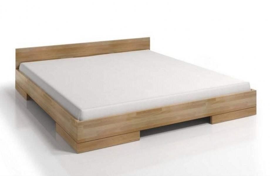 łóżko Bukowe Skandica Spectrum Niskie