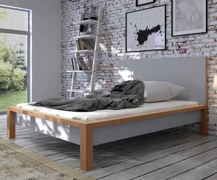 łóżko Drewniane Skandica Inbig