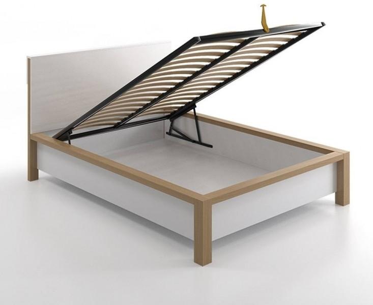 łóżko Drewniane Skandica Inbigst