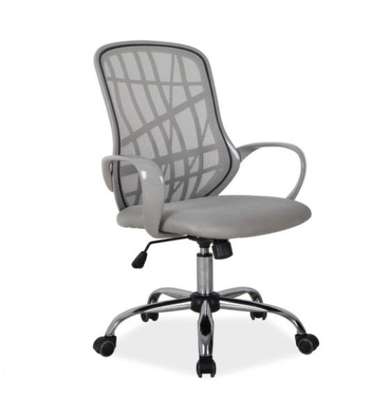 Obrotowe Krzesło Biurowe Dexter Szary Krzesła Biurowe Kupmeblepl