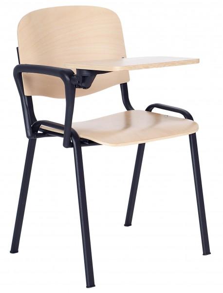 Krzesło konferencyjne sklejkowe ISO D z pulpitem
