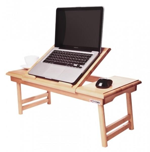 Drewniany Stolik Pod Laptopa Z Podnoszonym Blatem Duo Stoliki Pod